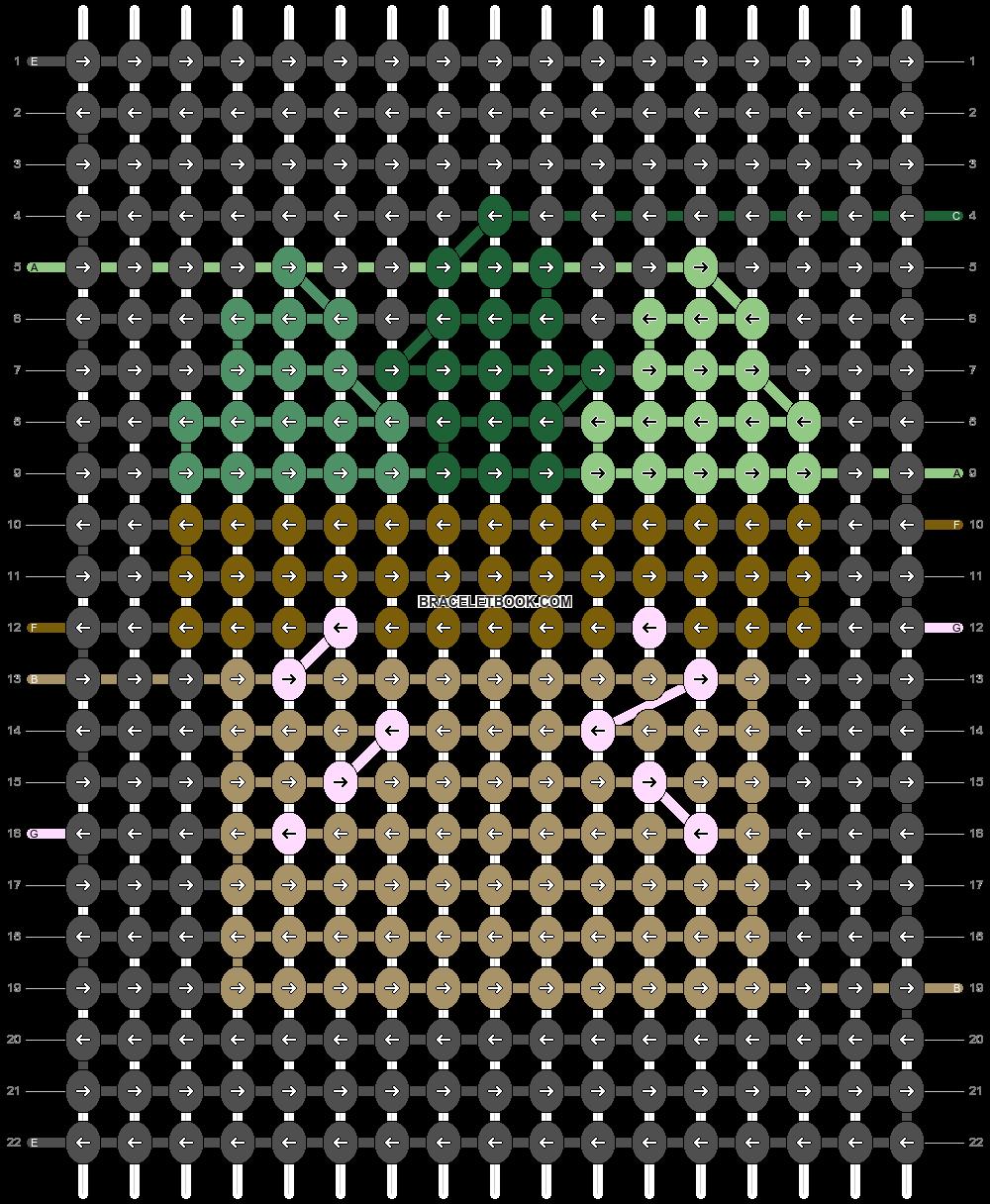 Alpha pattern #45867 pattern
