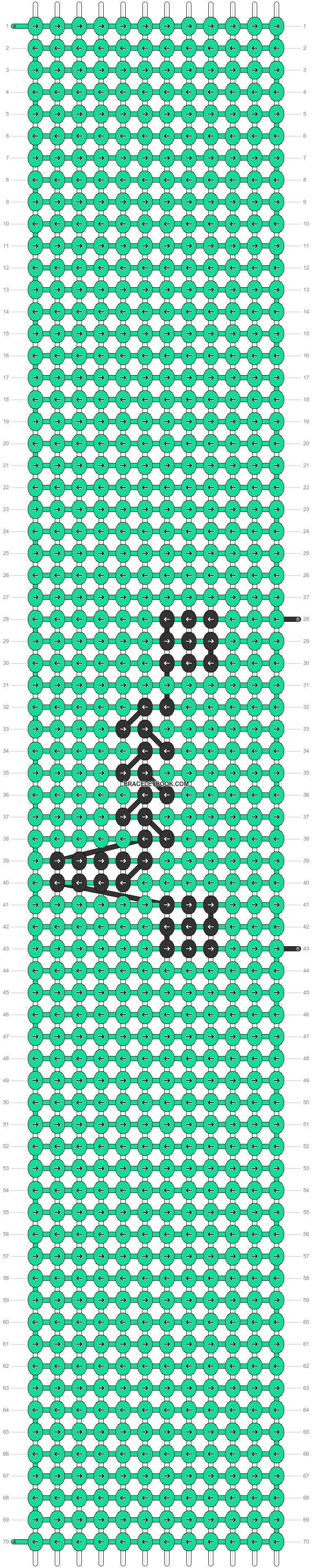 Alpha pattern #45876 pattern