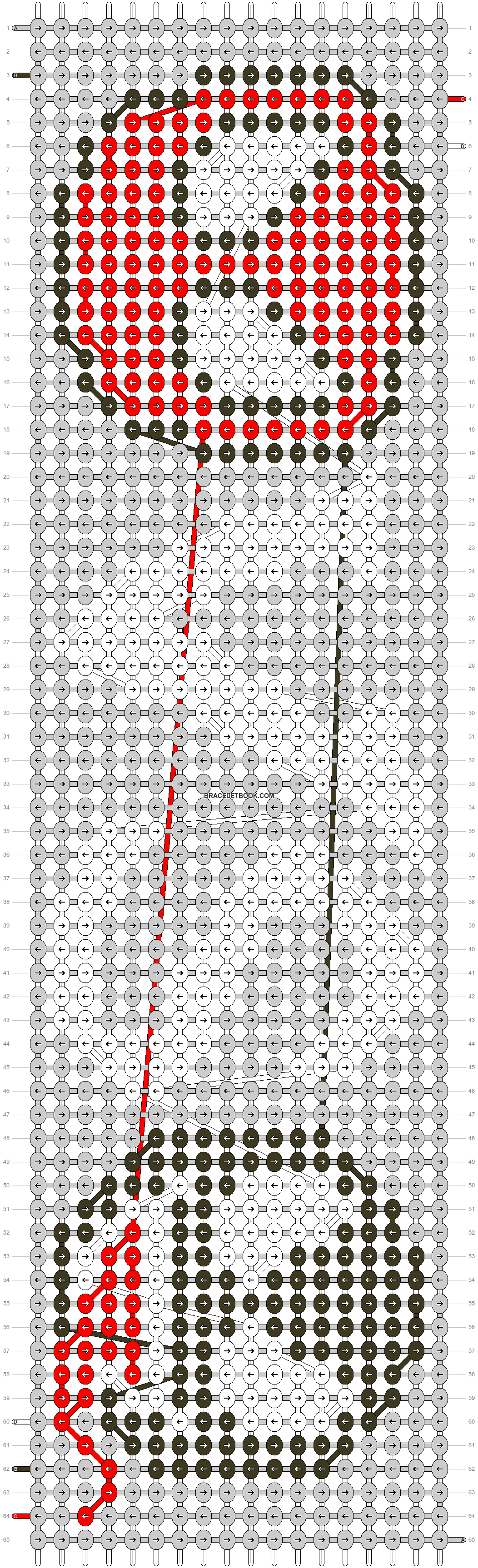 Alpha pattern #45877 pattern