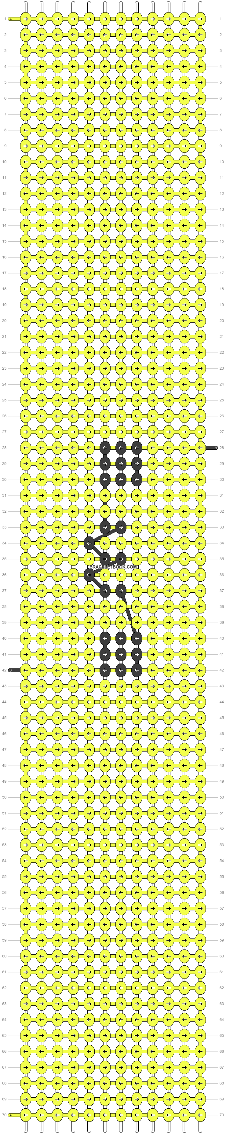 Alpha pattern #45878 pattern