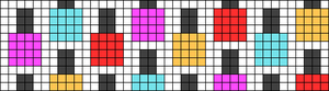 Alpha pattern #45884