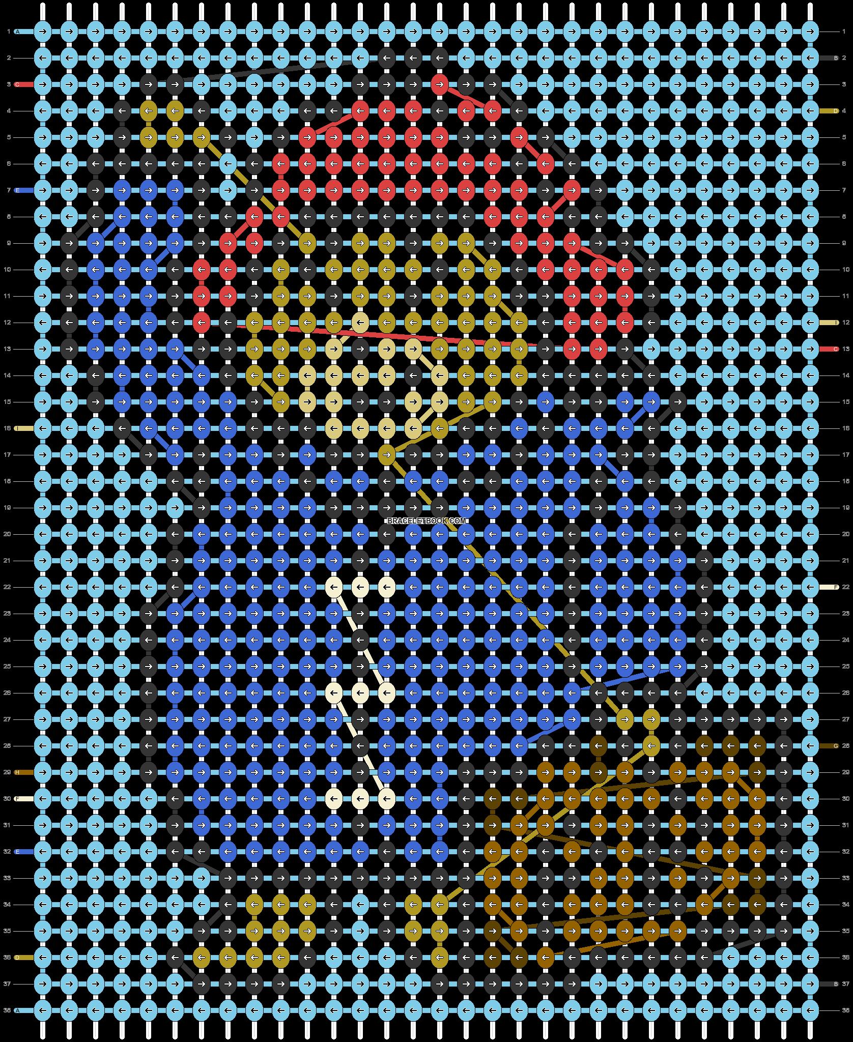 Alpha pattern #45891 pattern