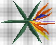 Alpha pattern #45906
