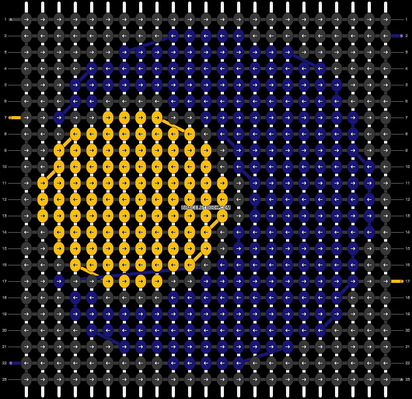 Alpha pattern #45907 pattern