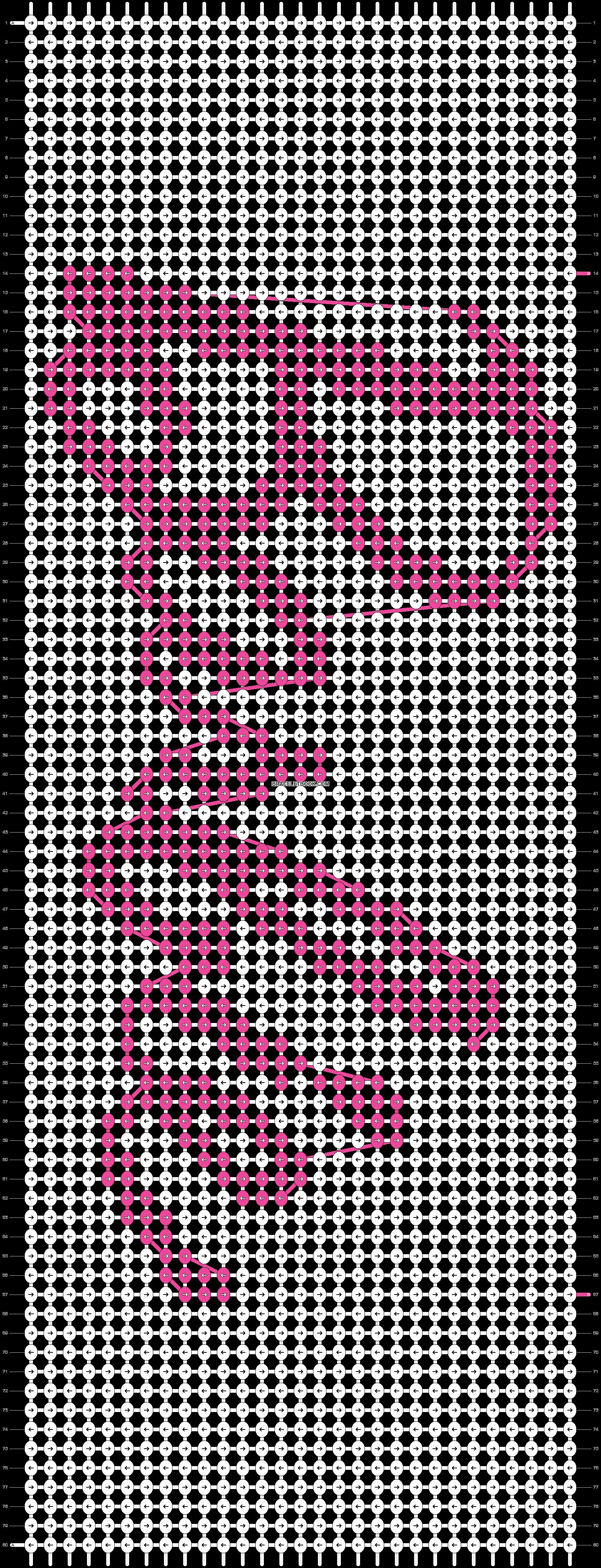 Alpha pattern #45934 pattern