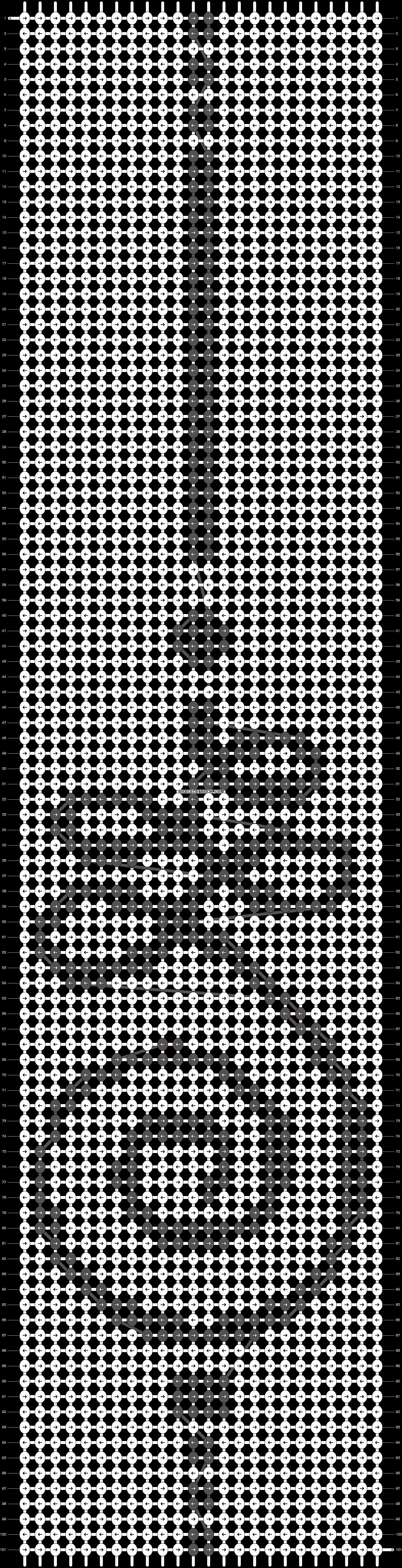 Alpha pattern #45936 pattern