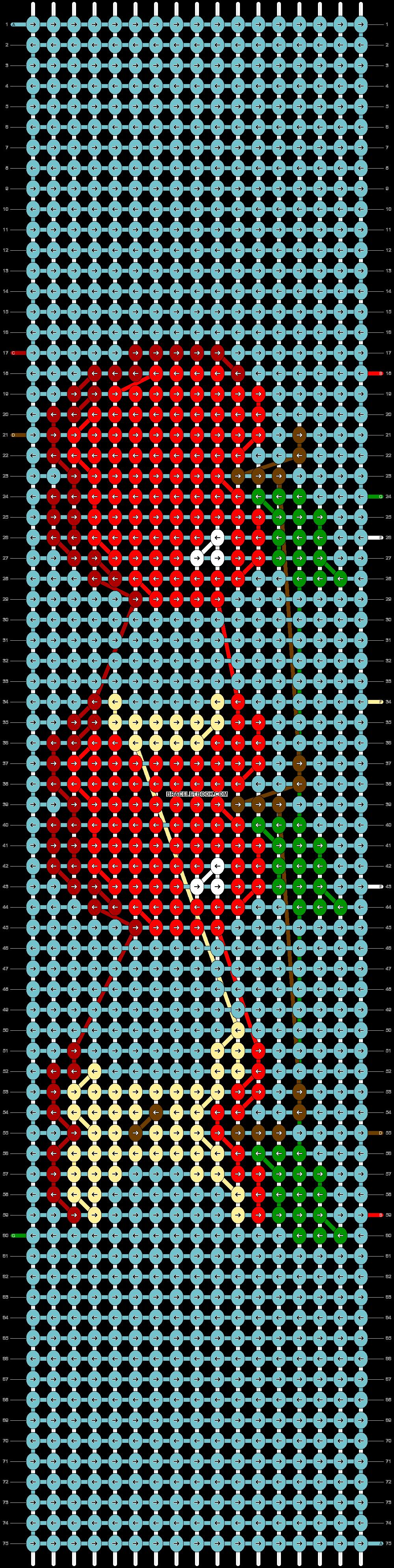Alpha pattern #45948 pattern