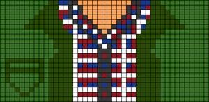Alpha pattern #45958