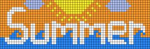 Alpha pattern #45987