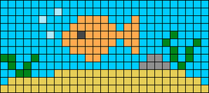 Alpha pattern #45990