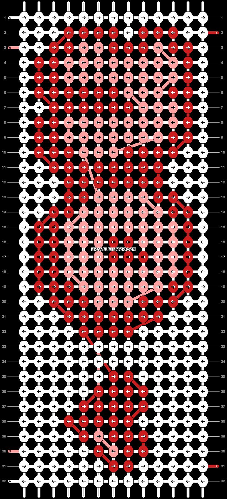 Alpha pattern #46000 pattern