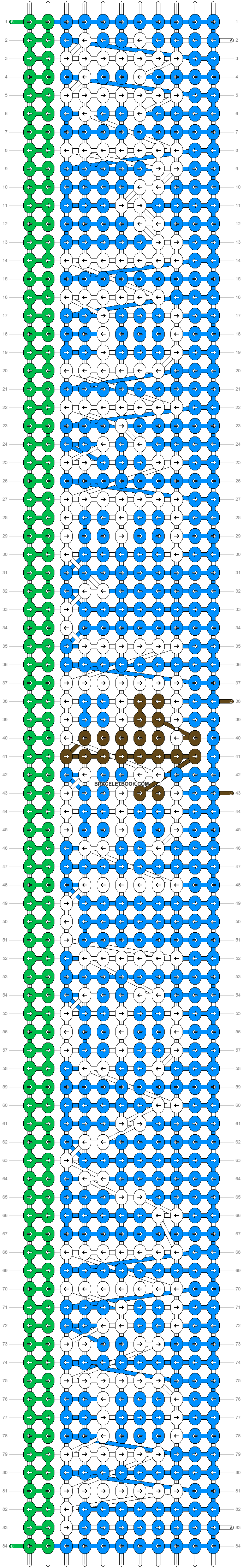 Alpha pattern #46012 pattern