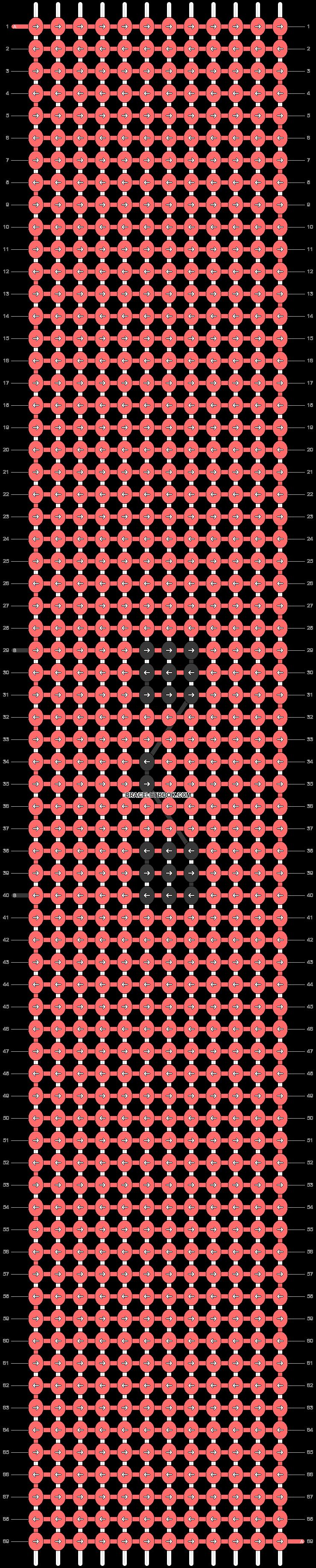 Alpha pattern #46015 pattern