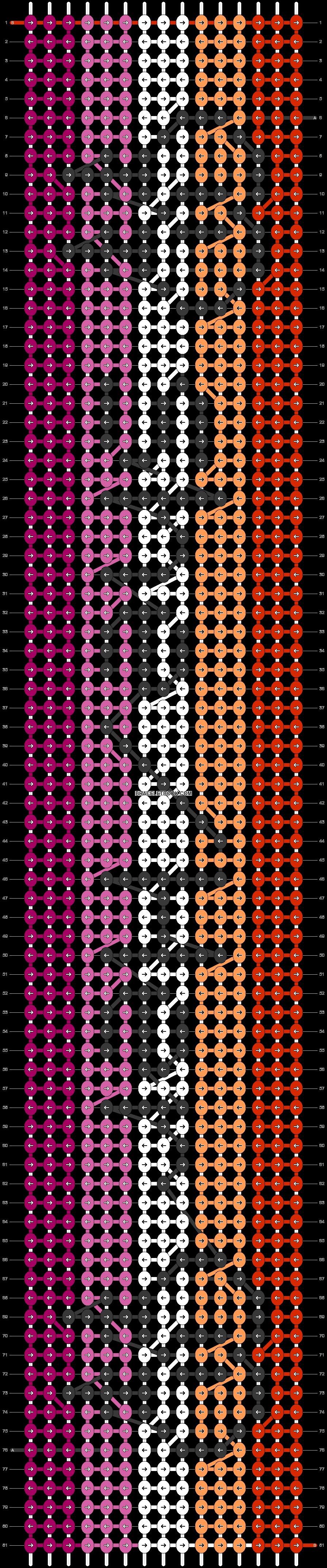 Alpha pattern #46034 pattern