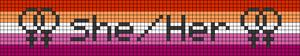 Alpha pattern #46034