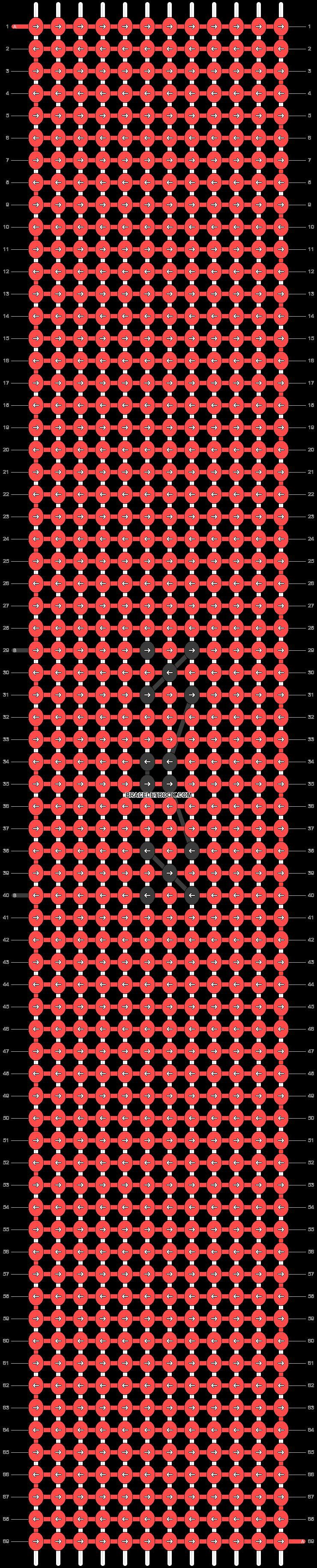 Alpha pattern #46038 pattern
