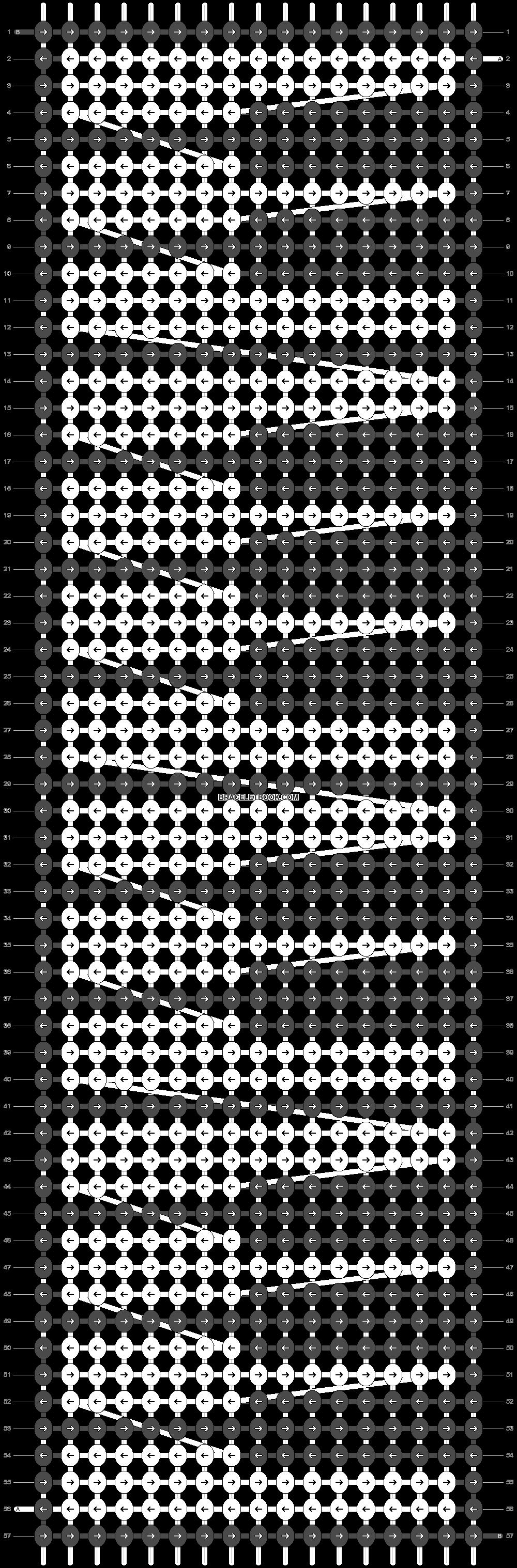 Alpha pattern #46040 pattern