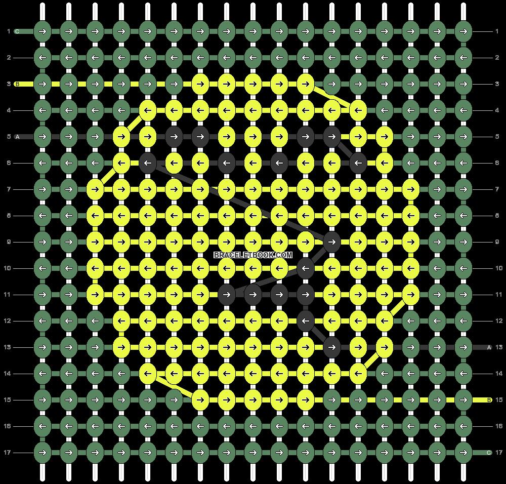 Alpha pattern #46041 pattern