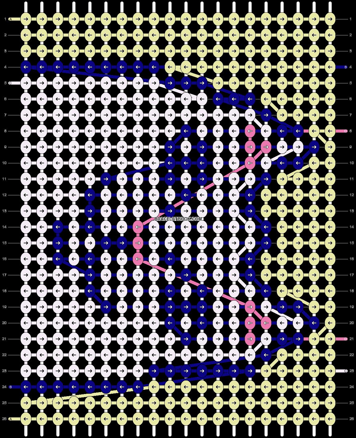 Alpha pattern #46056 pattern