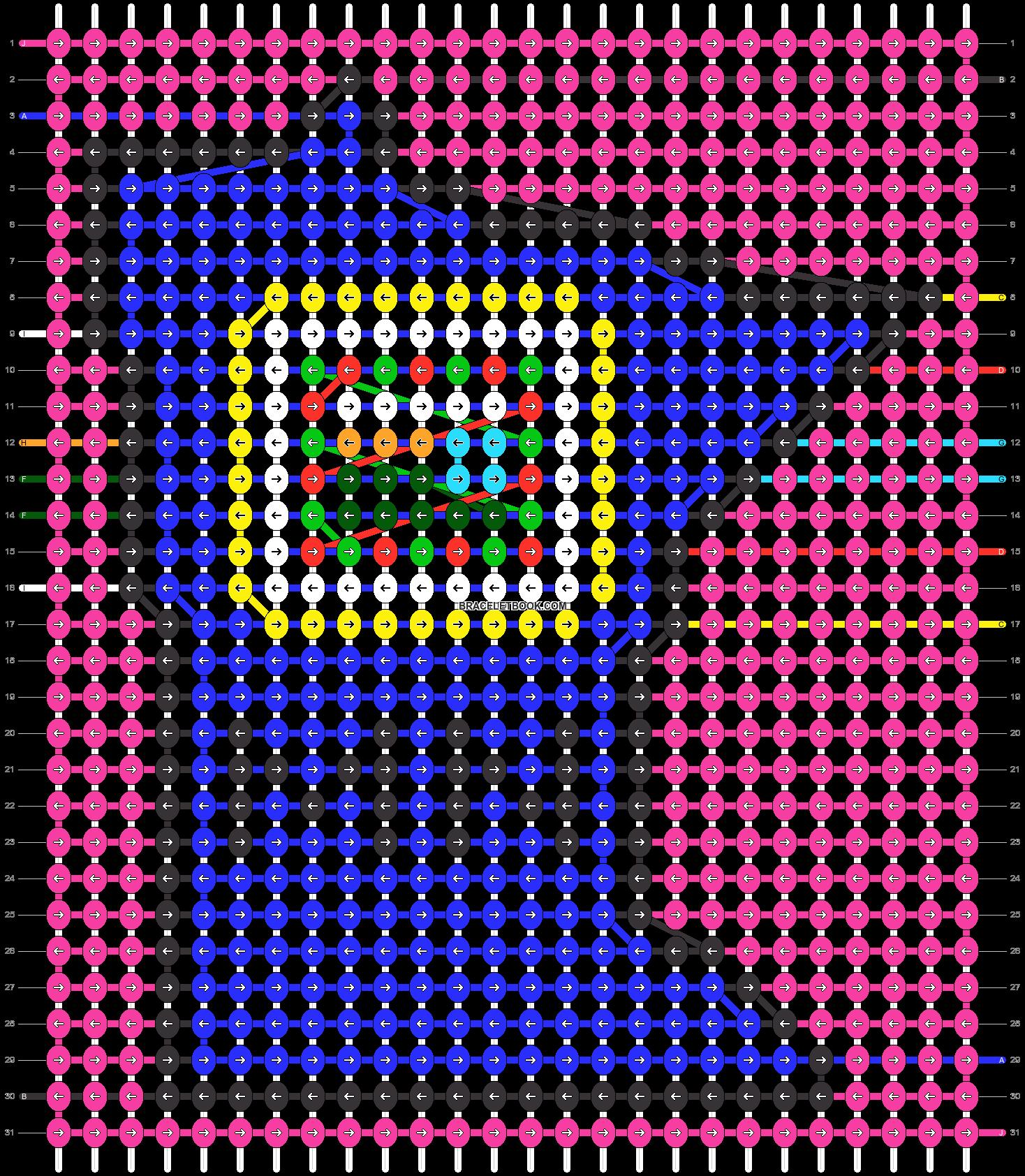 Alpha pattern #46096 pattern