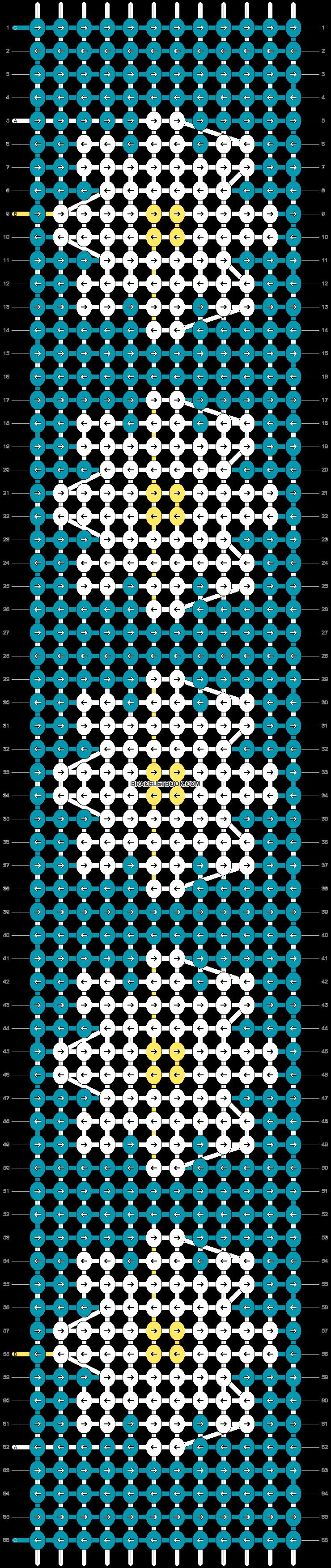 Alpha pattern #46125 pattern