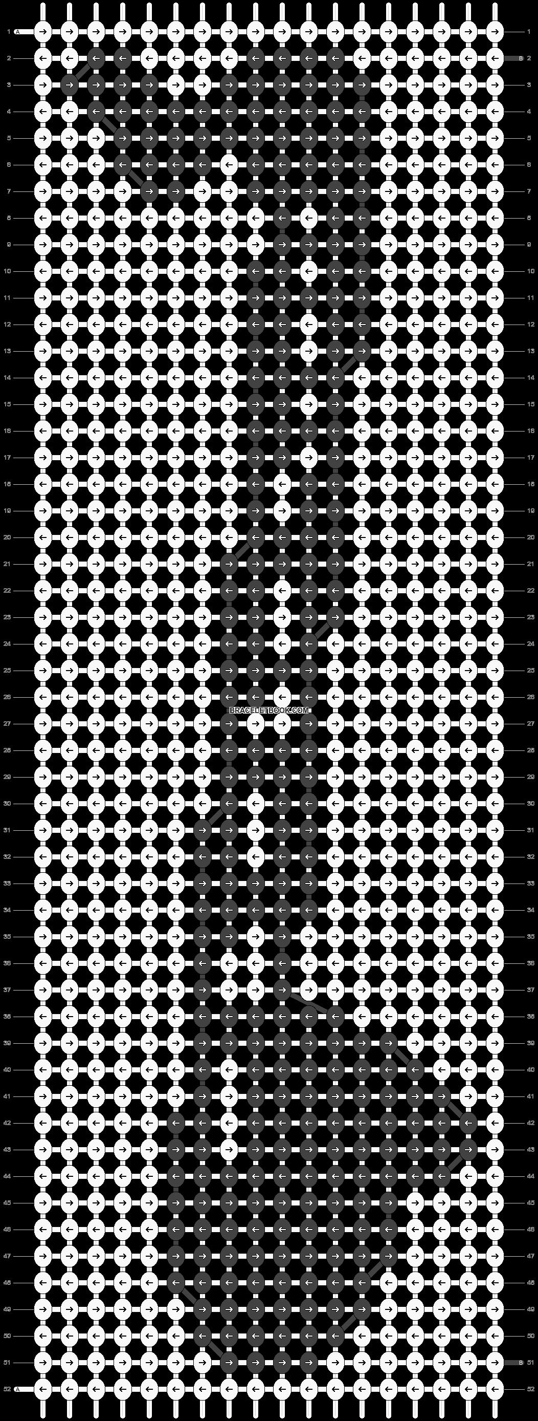 Alpha pattern #46130 pattern
