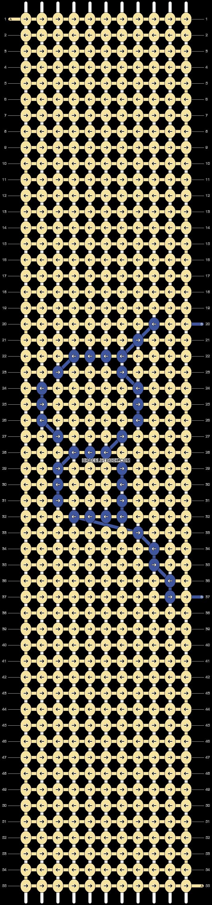 Alpha pattern #46134 pattern