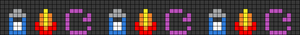 Alpha pattern #46142