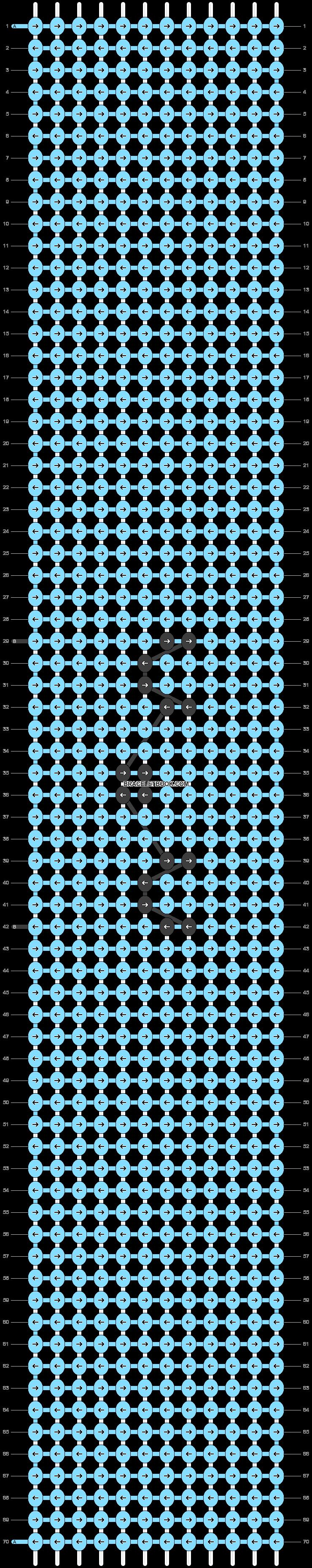 Alpha pattern #46178 pattern