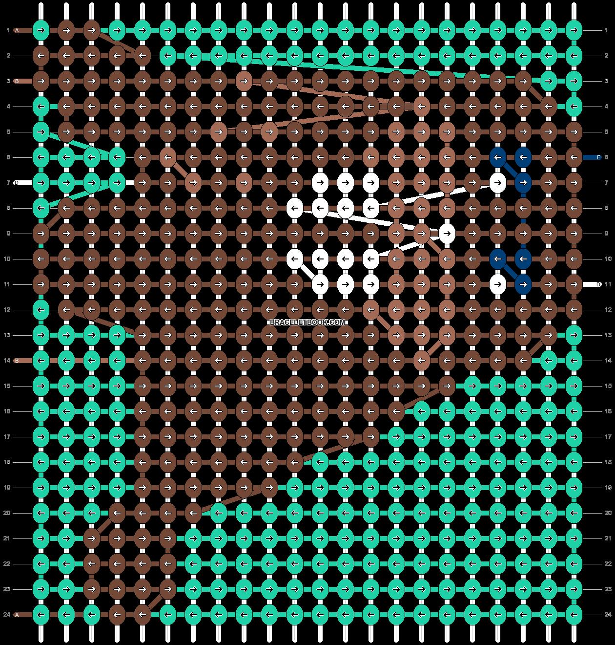Alpha pattern #46213 pattern
