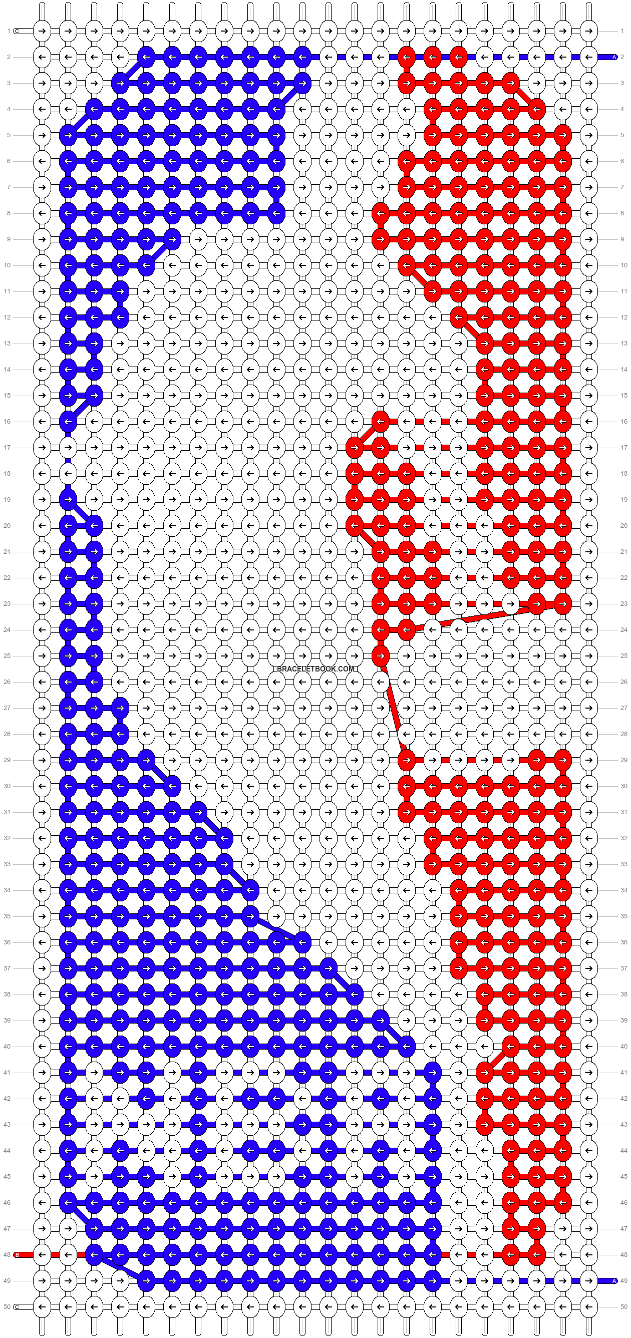 Alpha pattern #46234 pattern