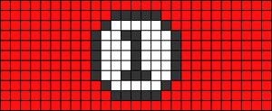 Alpha pattern #46236