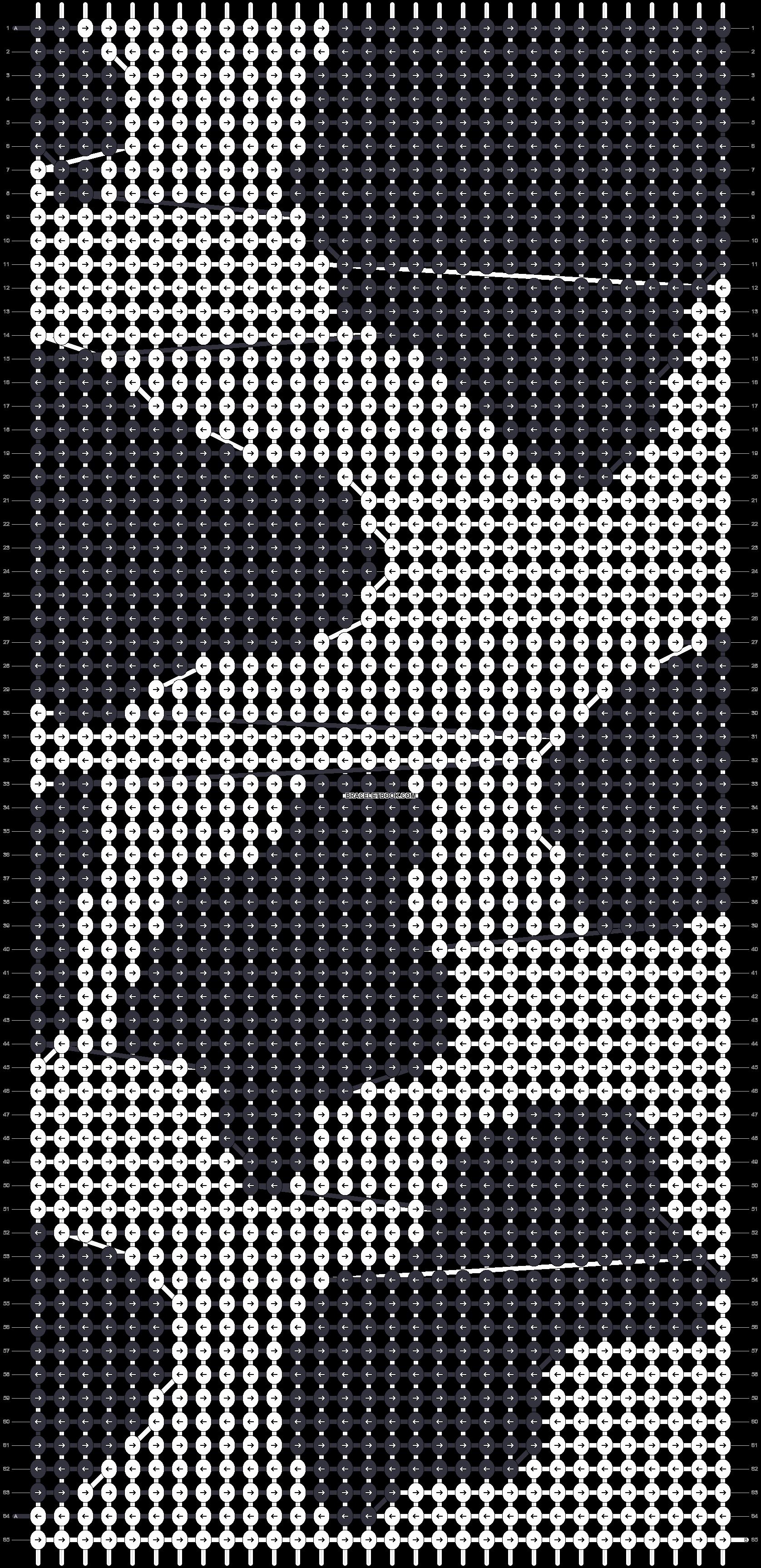 Alpha pattern #46253 pattern