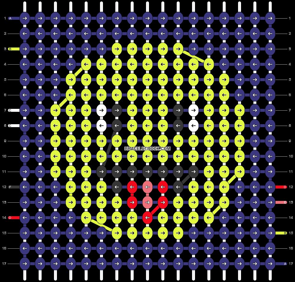 Alpha pattern #46276 pattern