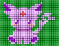Alpha pattern #46290