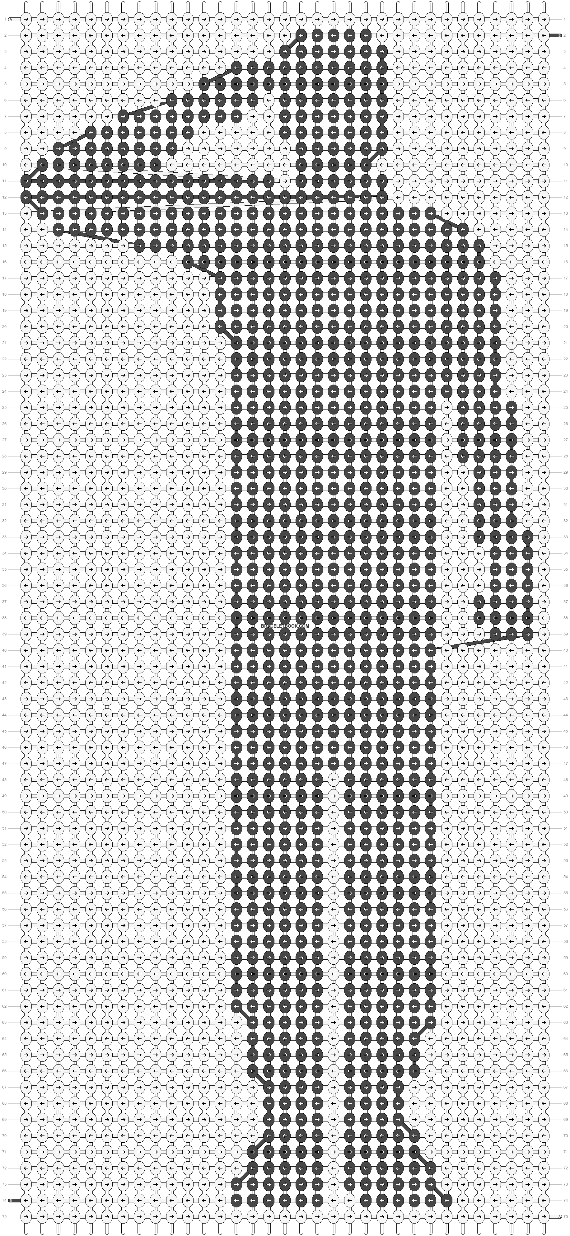 Alpha pattern #46338 pattern