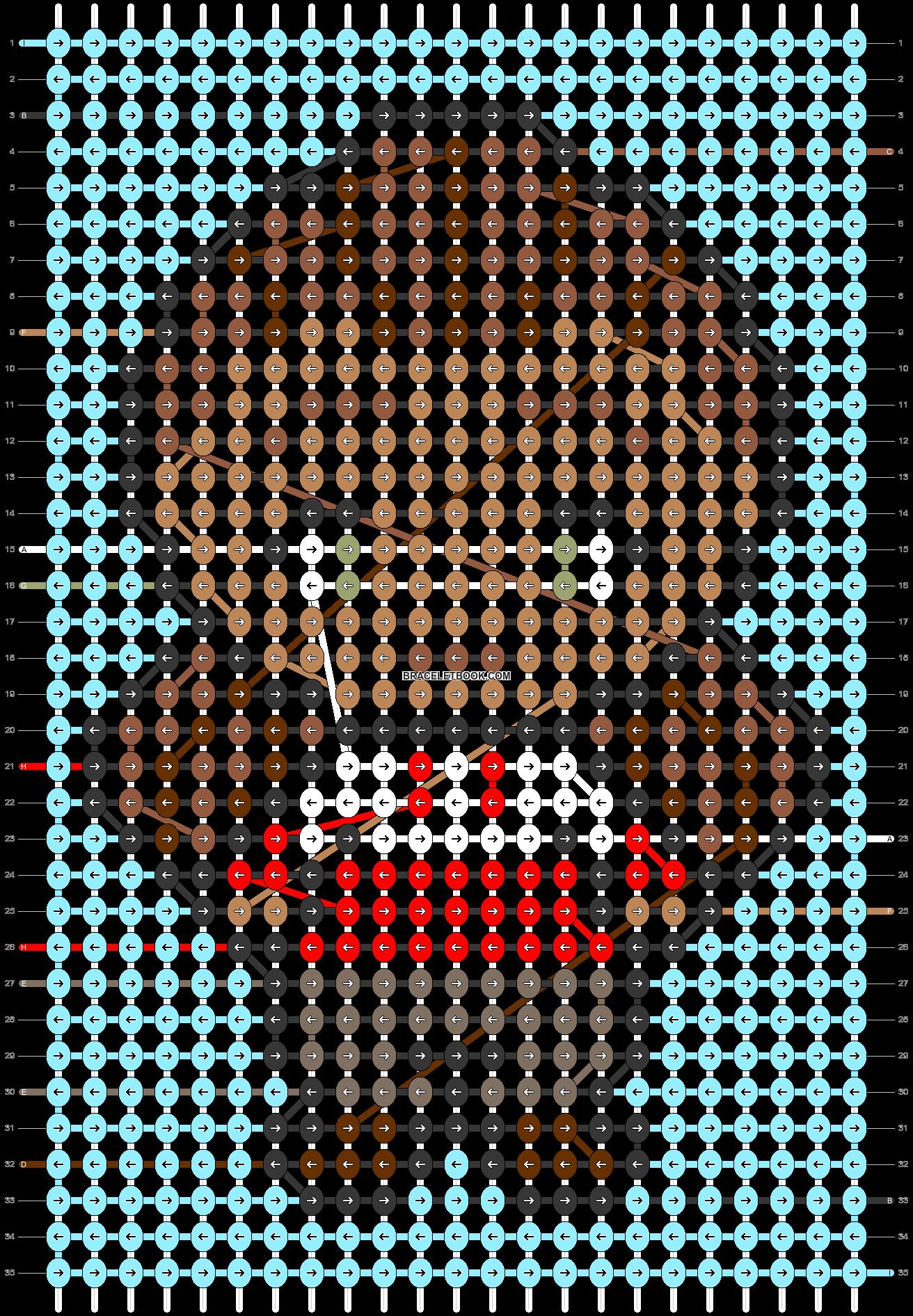 Alpha pattern #46355 pattern