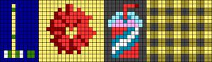 Alpha pattern #46364