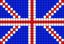 Alpha pattern #46366