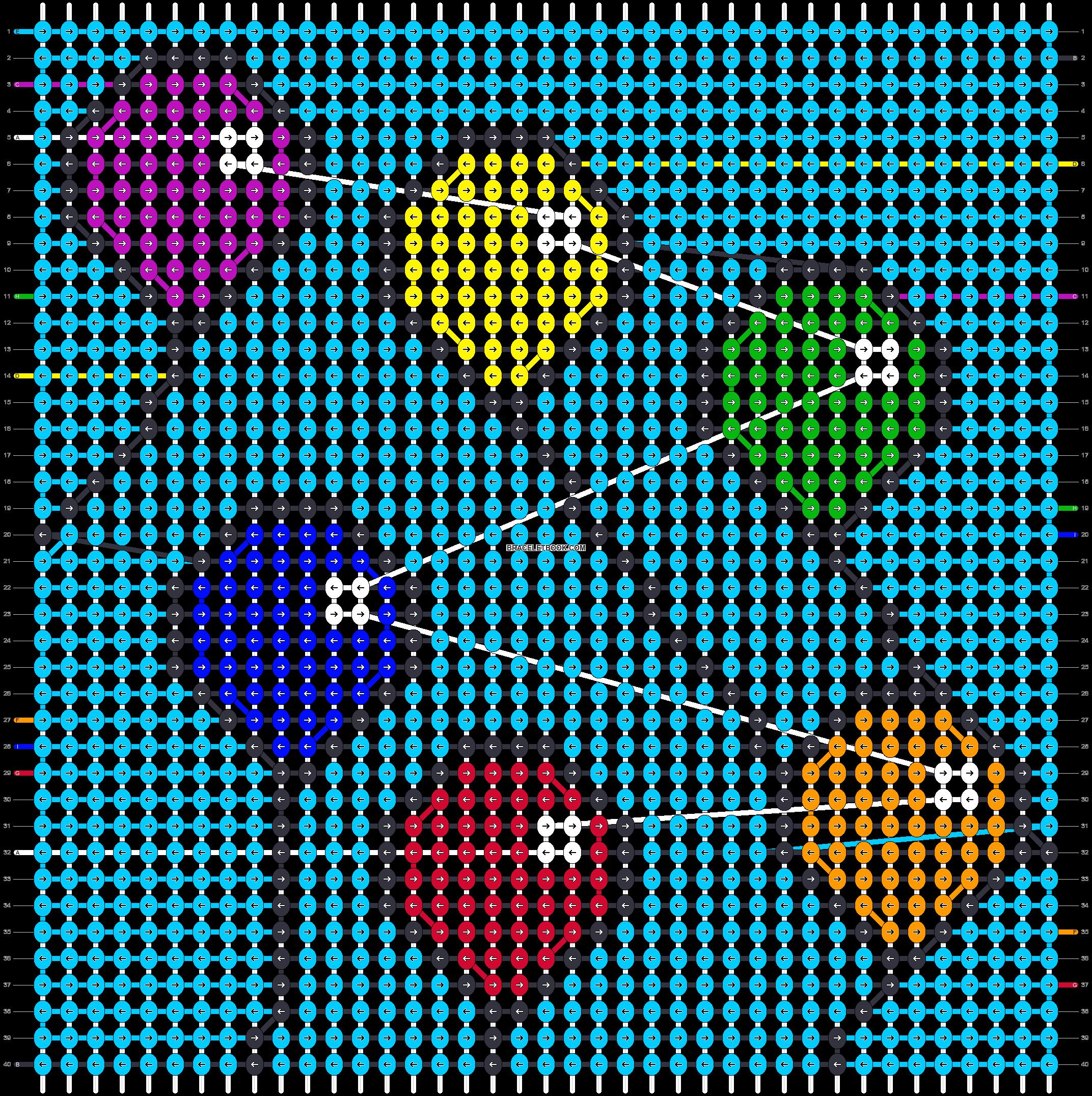 Alpha pattern #46419 pattern