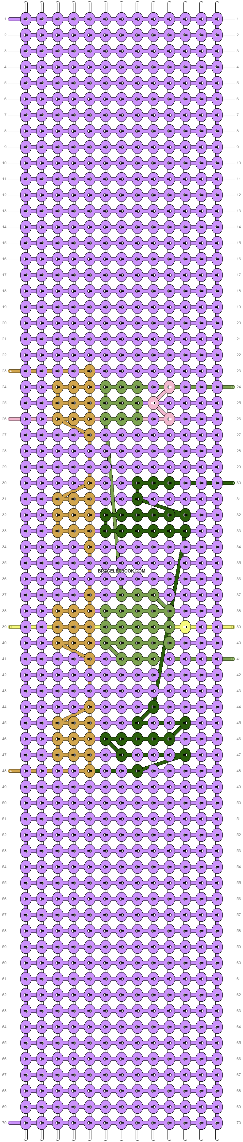 Alpha pattern #46431 pattern