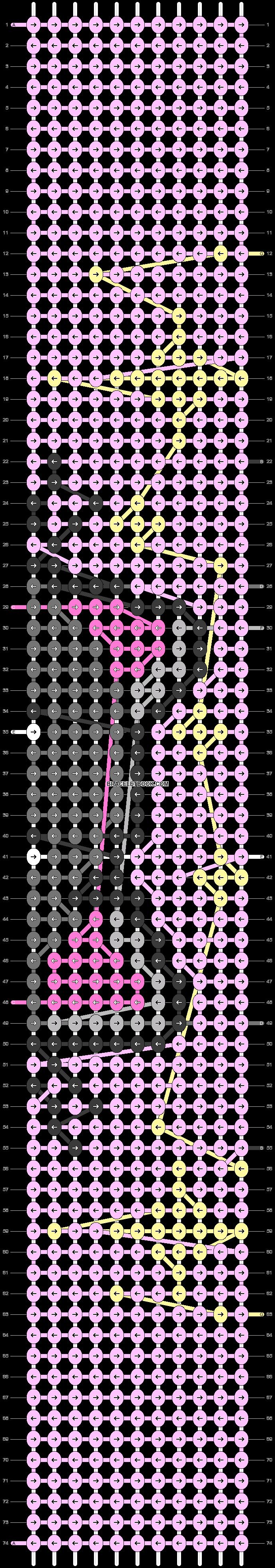 Alpha pattern #46442 pattern