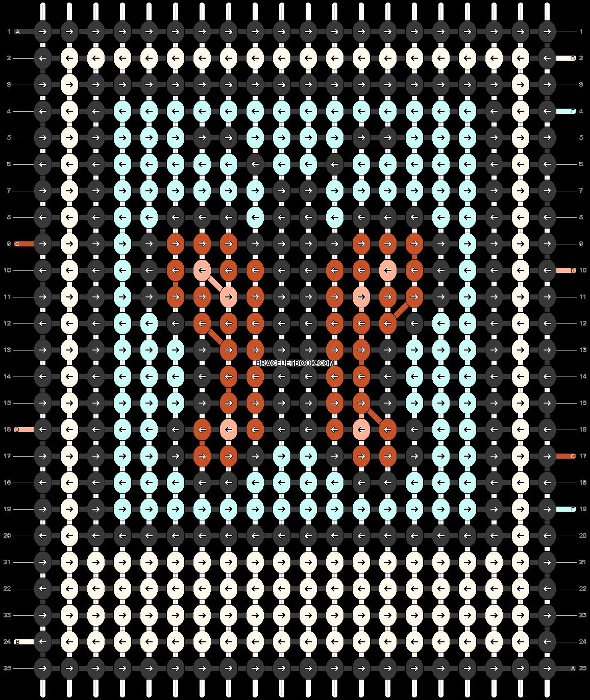 Alpha pattern #46476 pattern