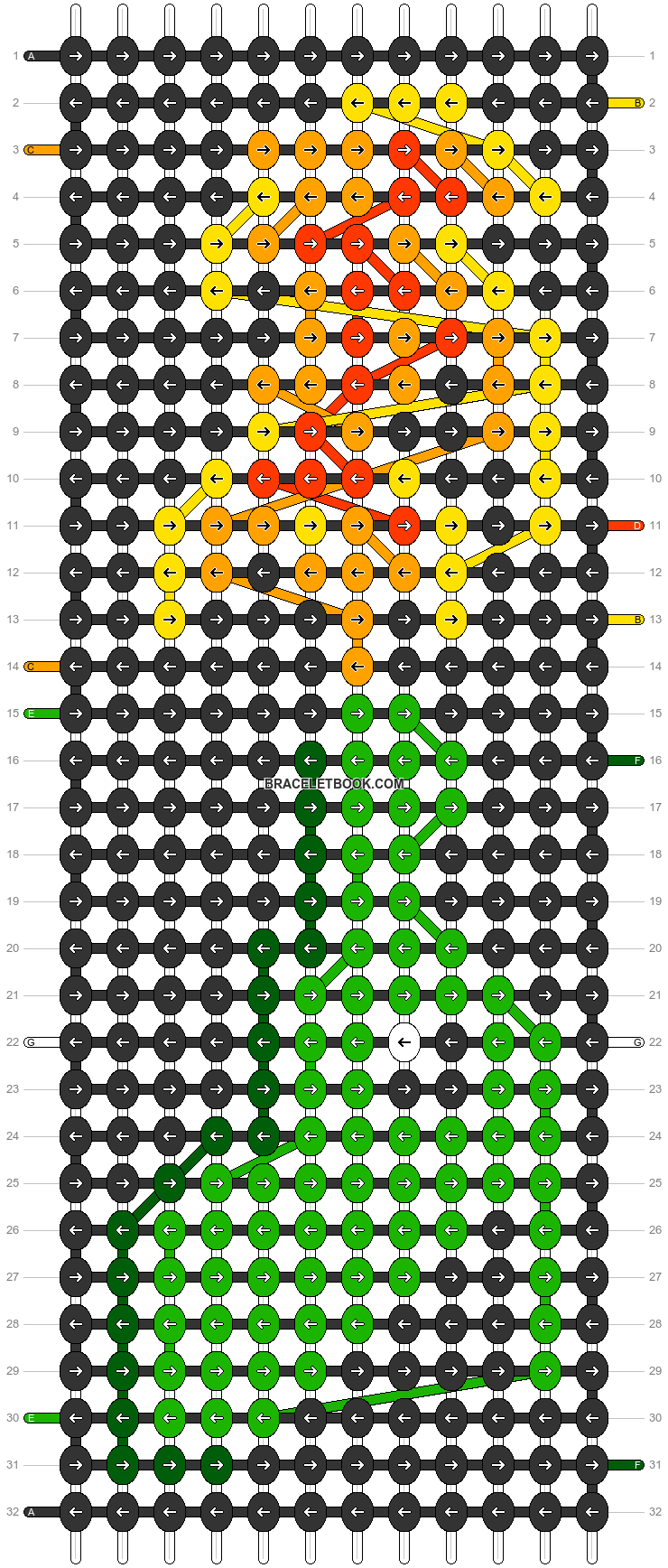 Alpha pattern #46477 pattern