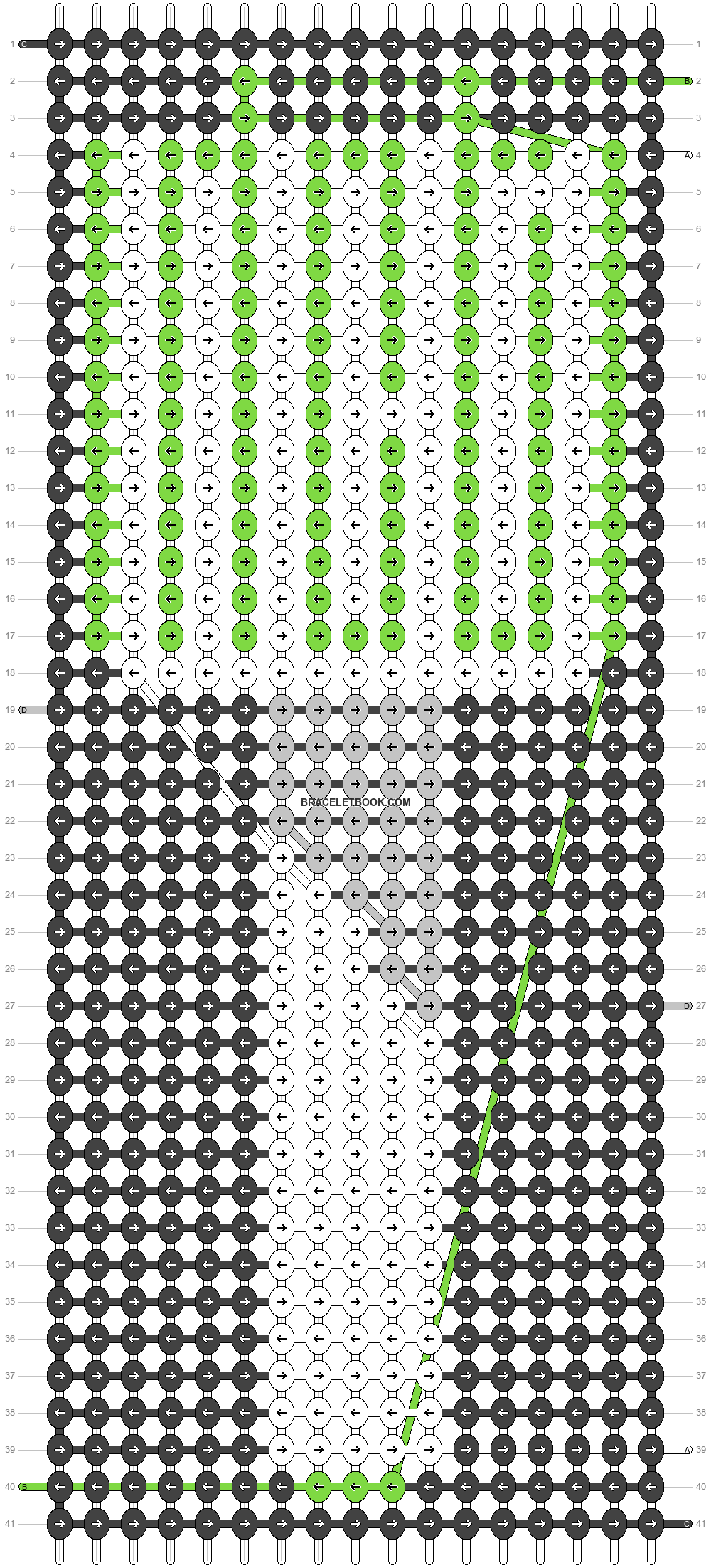 Alpha pattern #46479 pattern