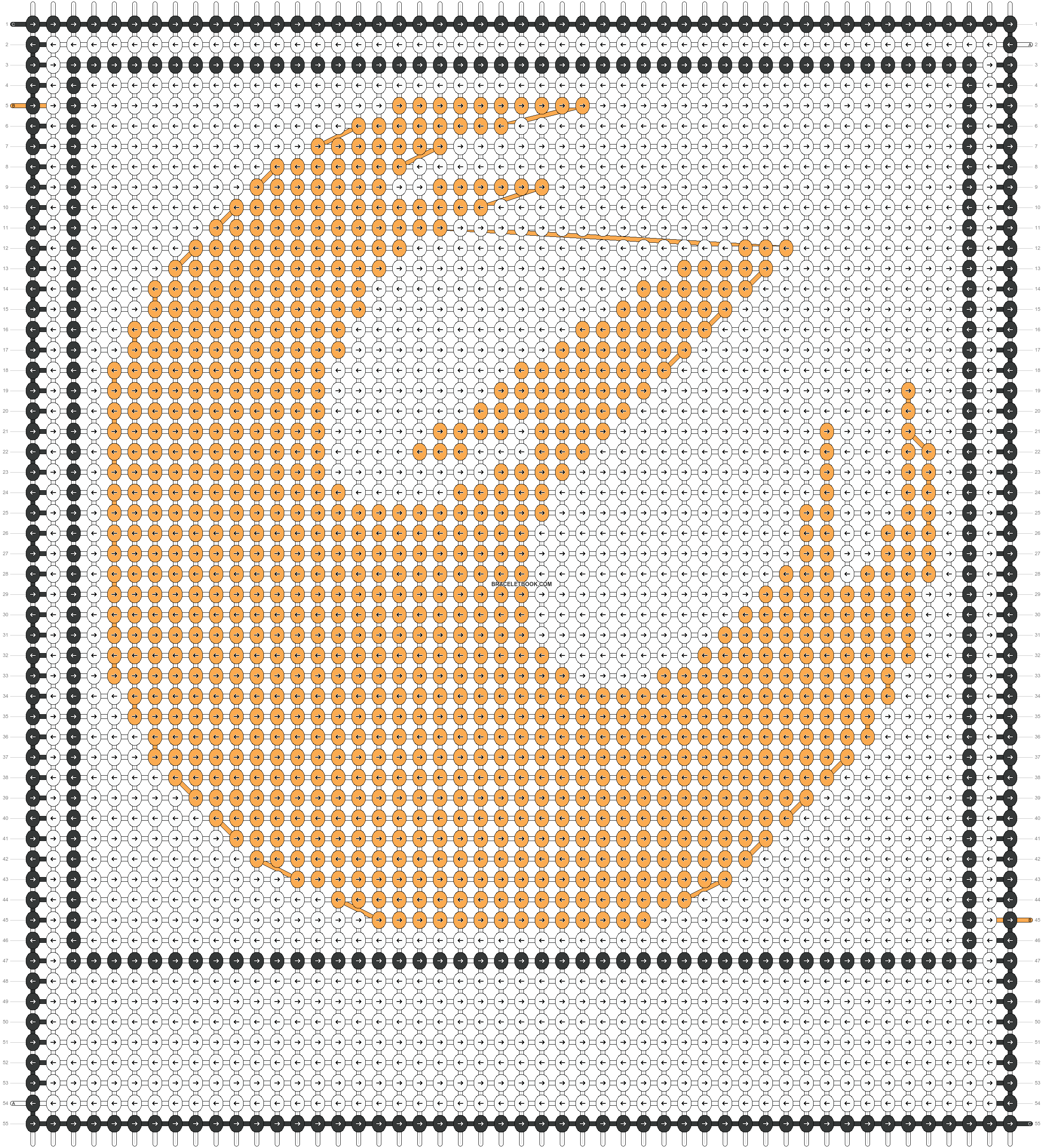 Alpha pattern #46490 pattern