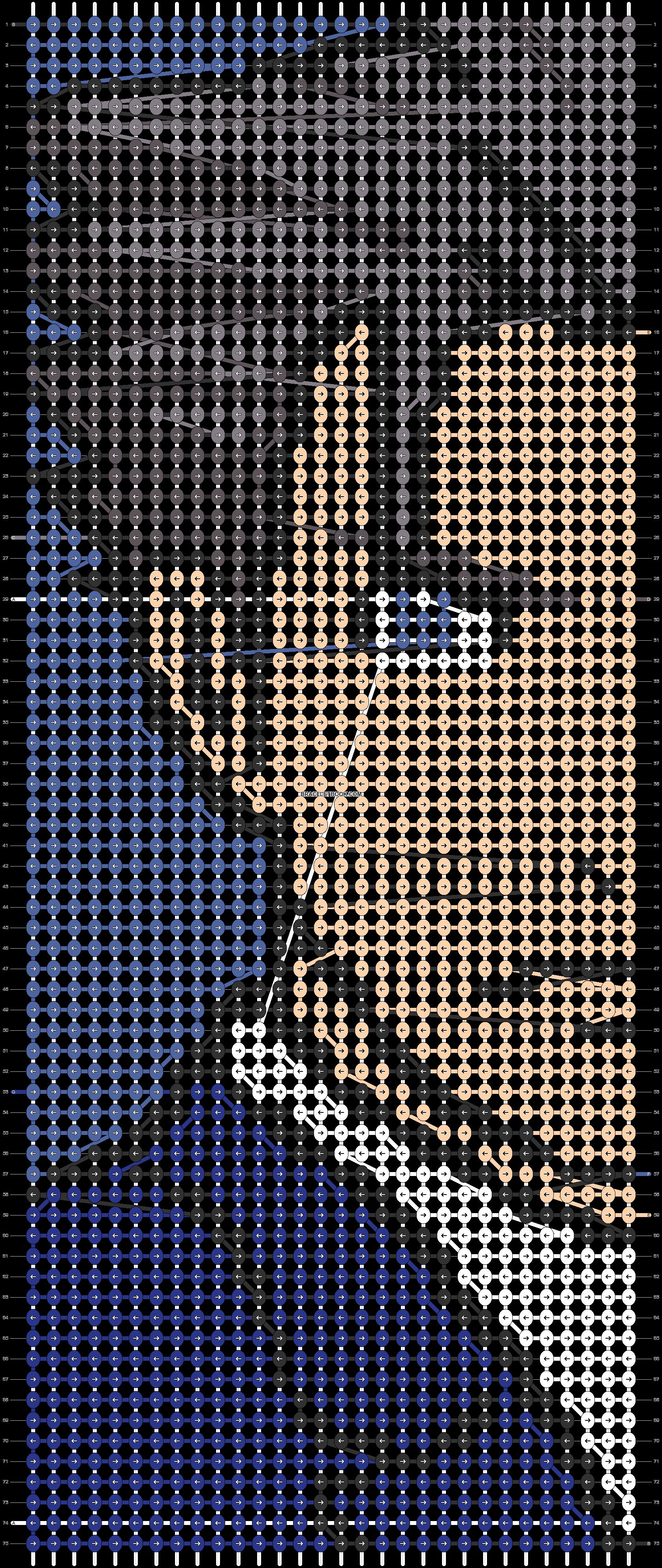 Alpha pattern #46491 pattern