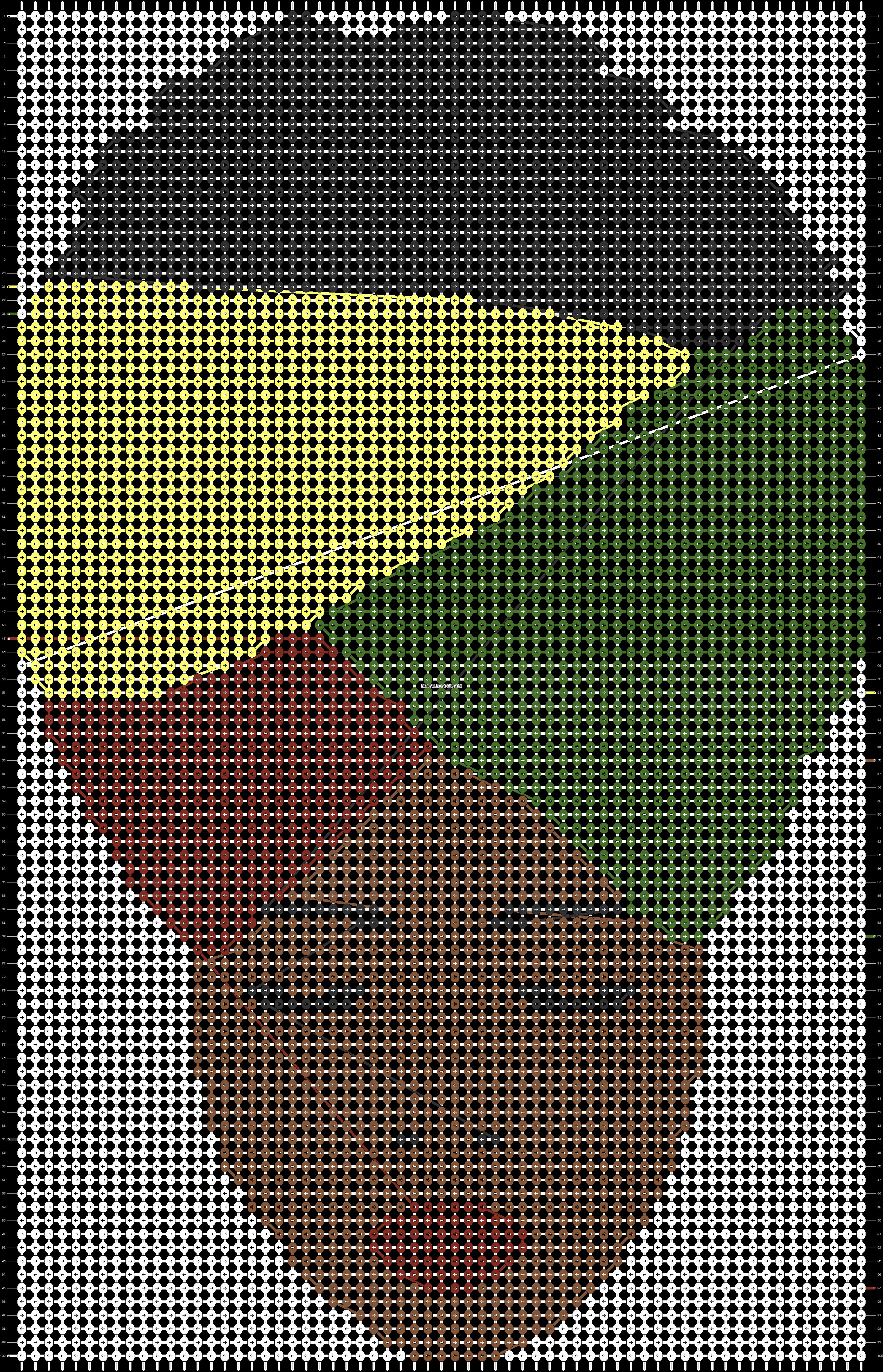 Alpha pattern #46492 pattern