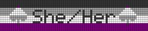 Alpha pattern #46493