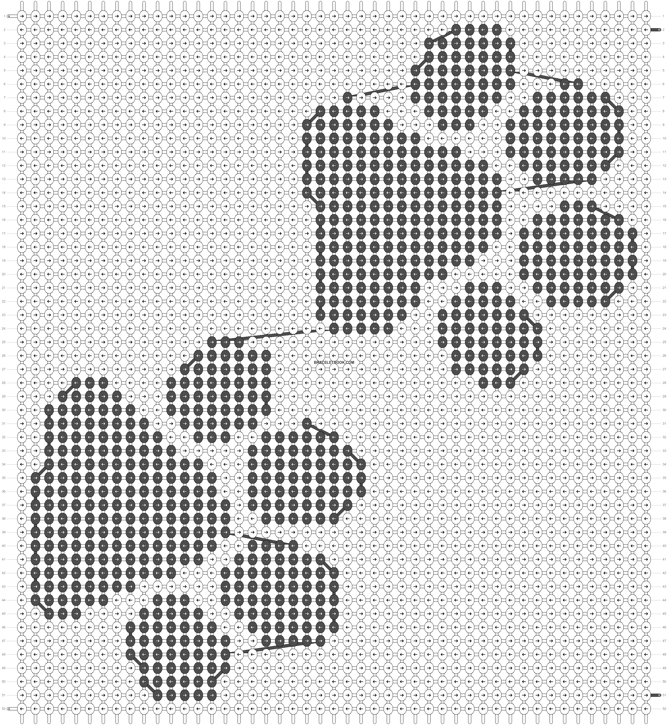 Alpha pattern #46500 pattern
